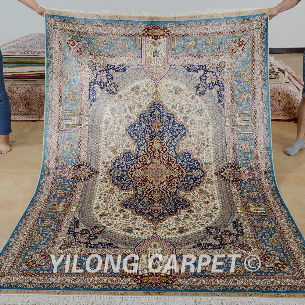 Alfombras tipo persa perfect afombra usada tipo persa en for Alfombra persa azul