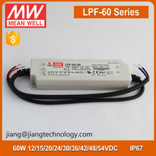 LPF-60-36 Constant Voltage 36V 1.67A 60W Meanwell LED Driver