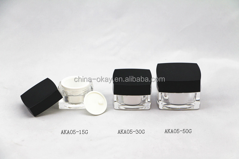 d0fdf0a6e3c4 Black Glass Jar /5ml Plastic Makeup Jar/cosmetic Makeup Container 5g - Buy  Black Glass Jar,Plastic Chemical Containers Jars,Cosmetic Containers And ...