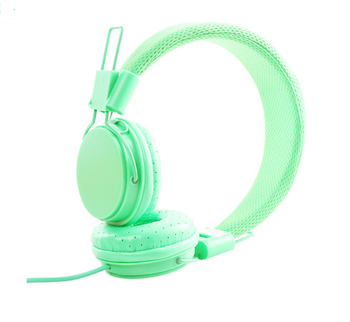 Folded Over-Ear earphone headphone wire