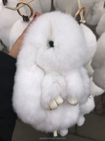Wholesale Price Rex Rabbit Kids Mascot Soft Lovely Gift Stuffed Real Rabbit Fur Toy
