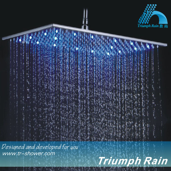 Rectangle Hydro Power Big Led Meteor Shower Rain Tube Lights Spa ...
