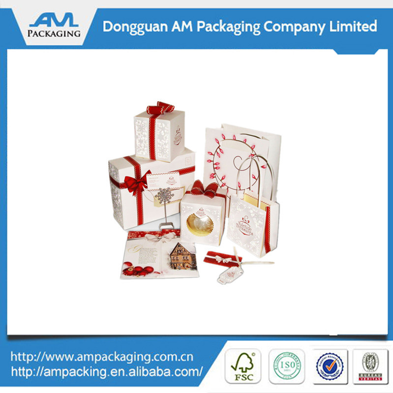 Custom Paper Decoration Gift Box Packaging For christmas ornament in Guangdong
