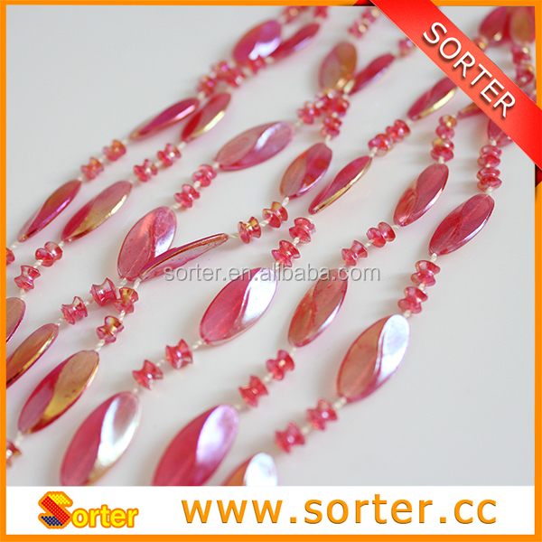 Sorter plastic bead string curtain of A-254