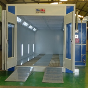 BSH-SP9300A spray booths used/auto workshop equipment/car painting oven