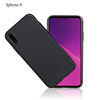 Latest hot selling Soft and durable environmental Silicone and TPU ultra thin 0.8mm colorfast cell phone case for iphone 8 8plus