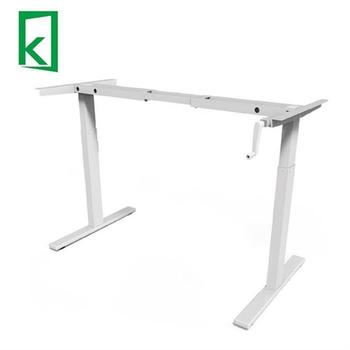Hot Sell Qjb 311 Office Hand Crank Sit Stand Height Adjustable Desks - Buy  Adjustable Height Standing Desk,Height-adjustable Standing Desk,Hand Crank