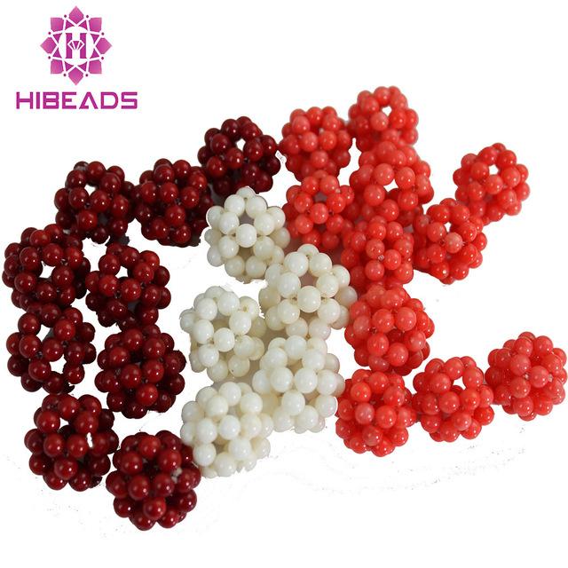 bolas de coral requintado coral beads fit encantos pulseira coral
