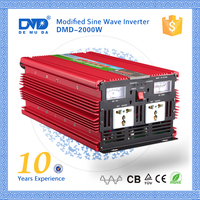 Modified sine wave solar power 2000w 48vdc 230vac inverter for home use