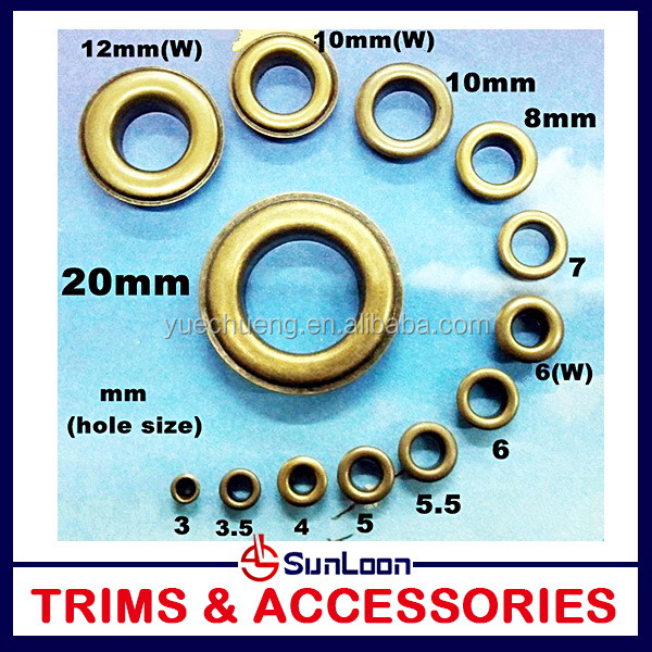 Welcome Wholesales Best-Selling shoe eyelets mini eyelets
