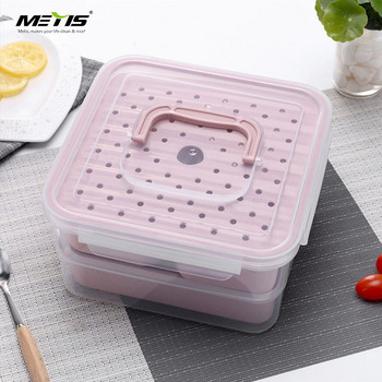 High quality 3 compartment layer baby storage lunch box