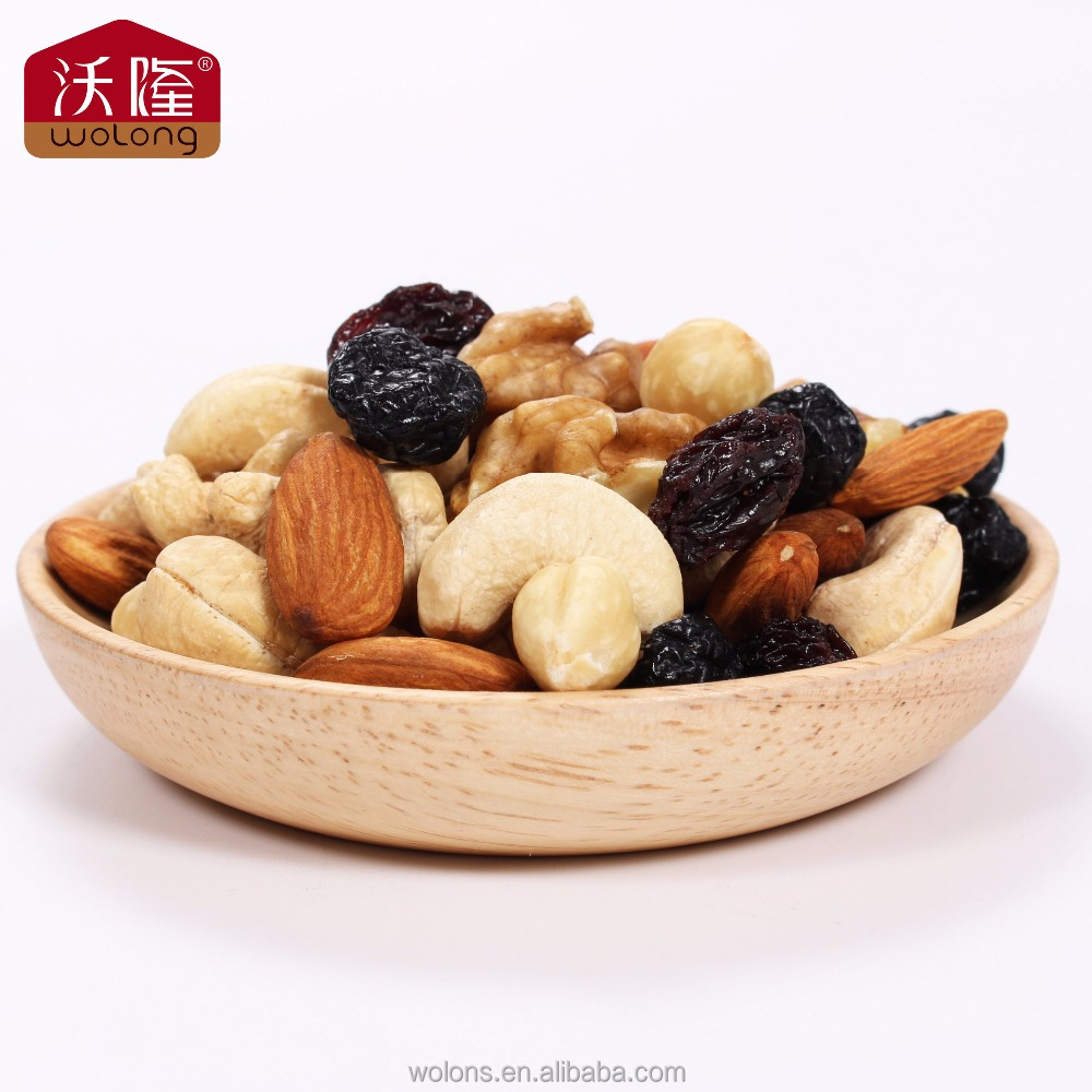 Top quality BRC and HALAL certification mixed nuts and dried fruits for sale