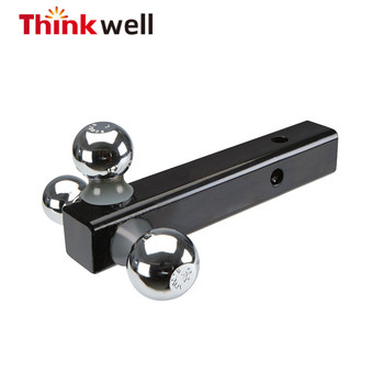 2017 New Forged Steel Triple Ball Trailer Hitch