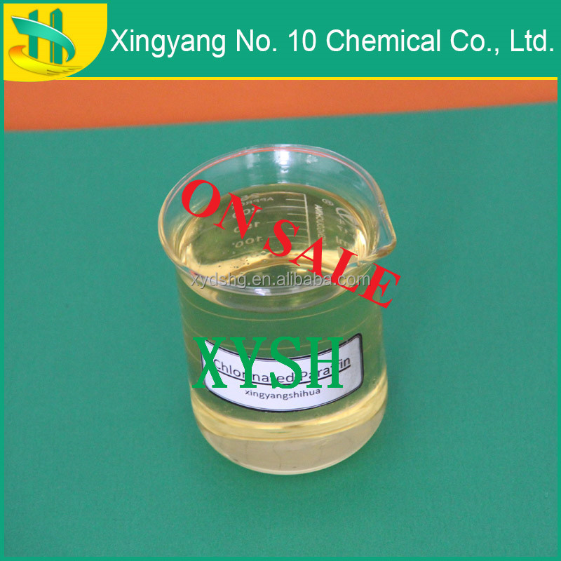 Top quality Chlorinated paraffin 52 additive for PVC resins polyurethane raw material