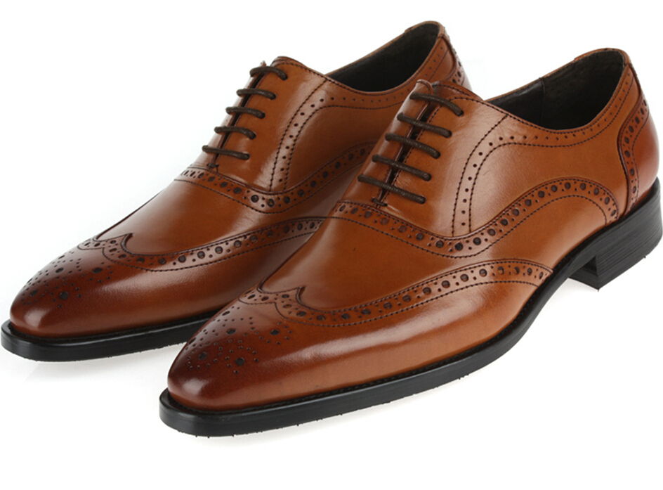 Designer Black Brown Tan Mens Wedding Shoes Genuine Leather Dress Brand Formal Office Business 2017 In Price On M Alibaba
