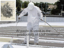 Aluminum Paste for Asphalt-based Roof Coatings