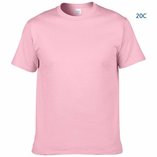 2019 100% Cotton Wholesale OEM Logo blank t-shirt Plain TShirt custom t shirt