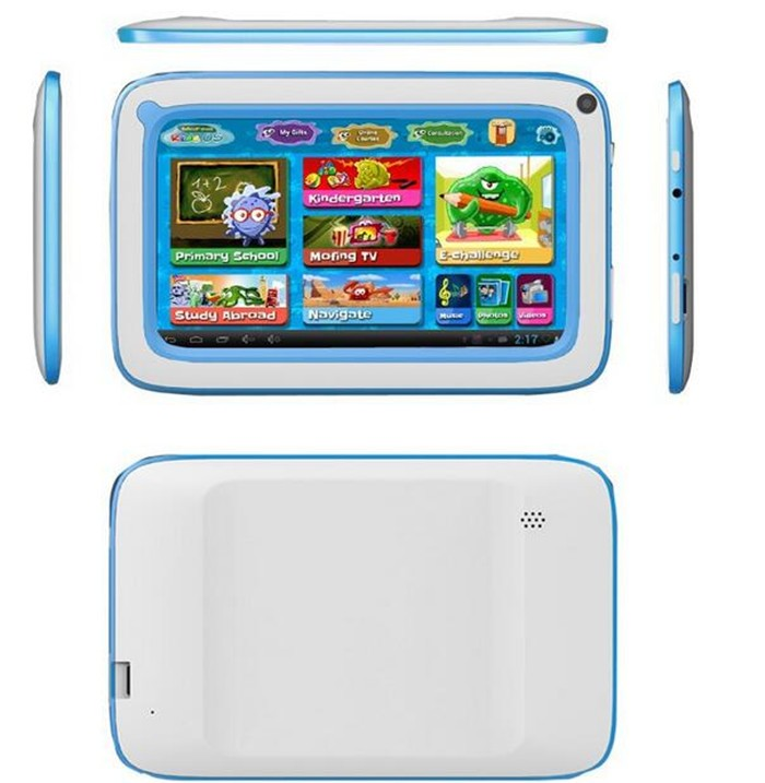 China cheap 7inch kids tablet pc quad core children tablet allwinner a33 android4.4