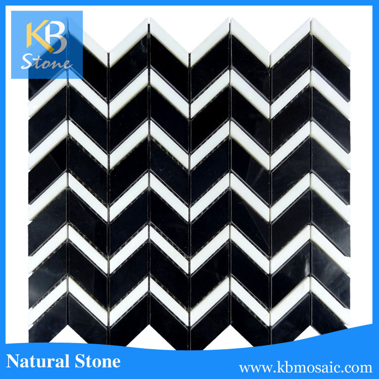 Factory Directly black glass mosaic tile pictures