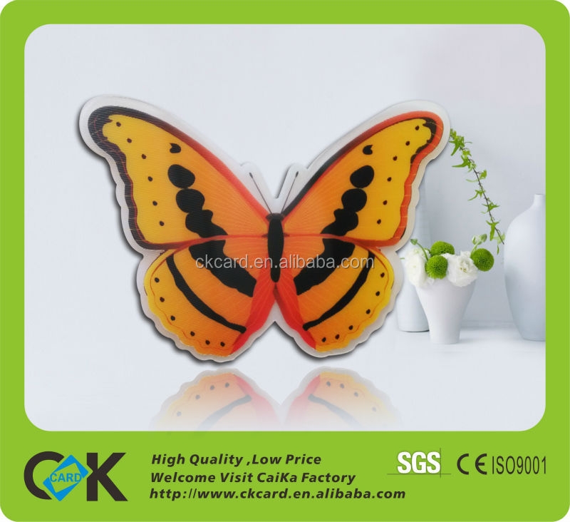 Factory price 3d PVC card from China maker