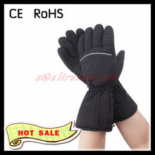 3.7V 7.4V Rechargeable Li-on Battery Operated Heated Electric Thermal Men Winter Ski Gloves