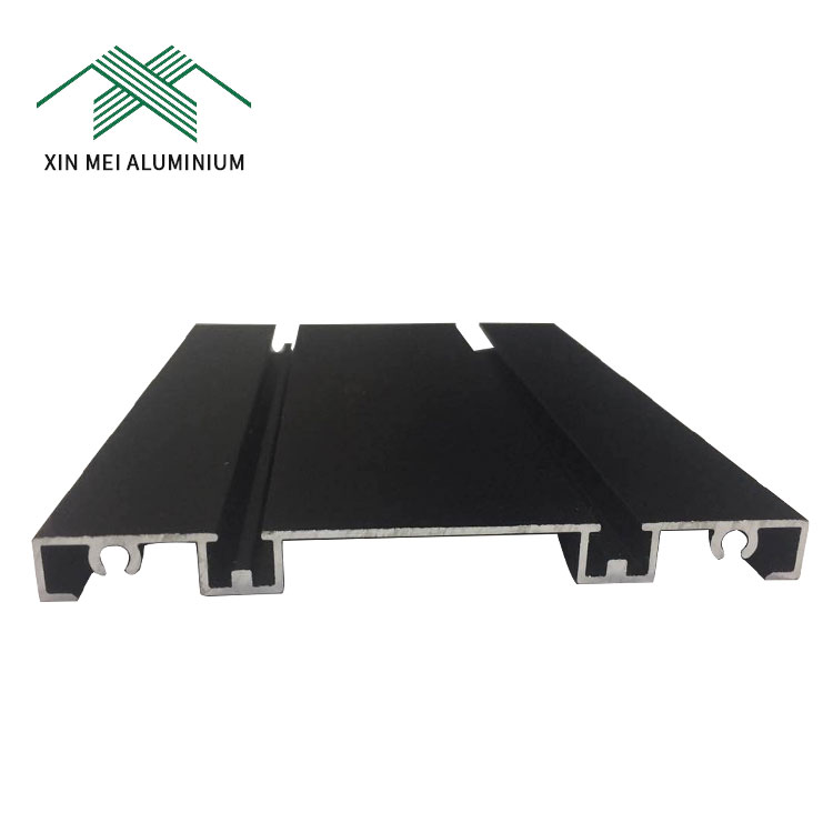 Electrophoresis/Powder Coating/Wood Grain/PVDF Coating Surface 6063 Extruded Aluminum Profiles for Building Materials