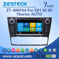 Wince 6.0 OS touch screen auto radio for bmw e81 82 88 auto with GPS, FM/AM, Support IPOD, SWC, USB/SD, BT, Multi-language, A/V