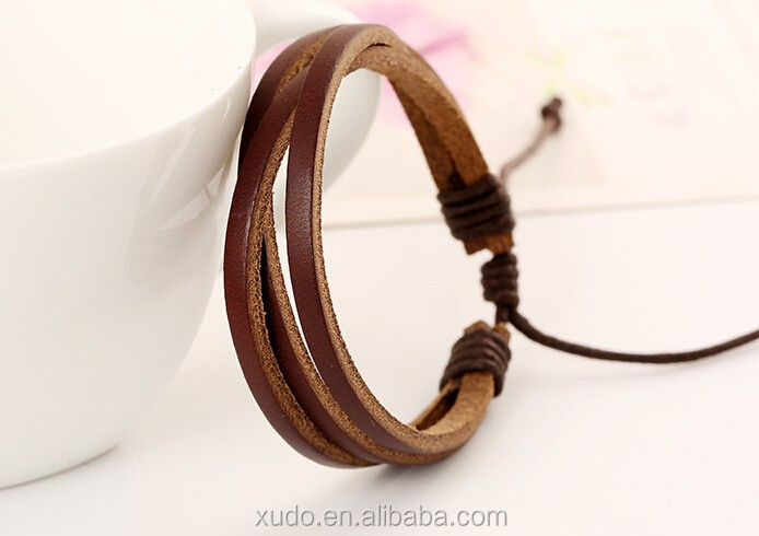 womens/mens leather wrap bracelet wholesale