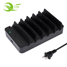 Draagbare 6 Port Smart Usb Charger Station 60 W Desktop Docking Station 5 v 2.4a voor Mobiel/Tabletten/ <span class=keywords><strong>camera</strong></span>