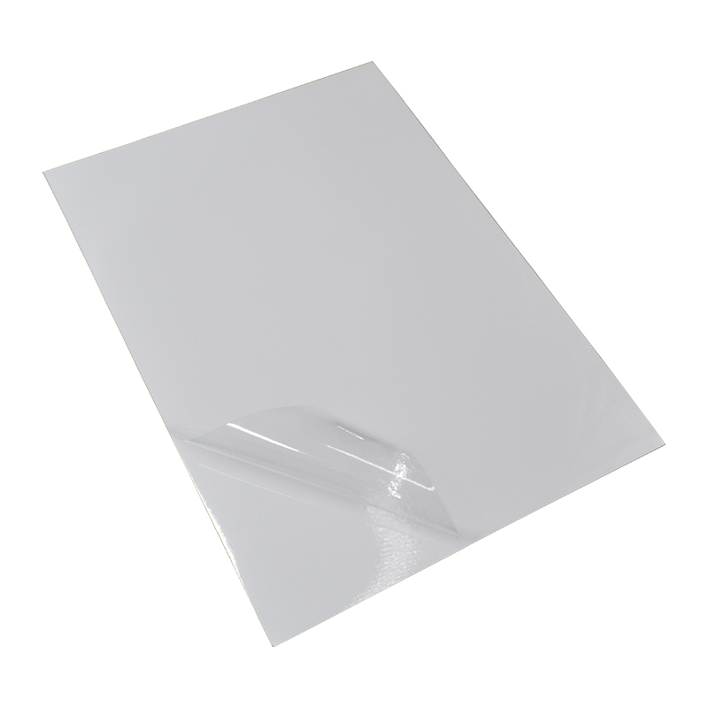 100mic transparent static cling PVC film in sheets