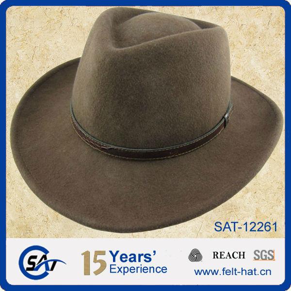 40b81c8826ddf Solid Blaze Orange Mountain Wool Felt Hat - Buy Mountain Wool Felt ...