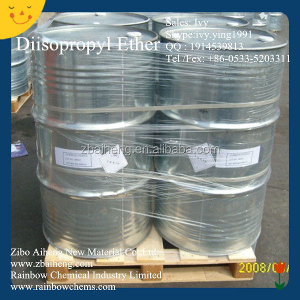 Chemical Raw Materials Low Price DIPE 99% Diisopropyl Ether For Pharmaceutical
