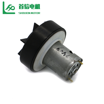12v Geared 120w Brushless DC Small Electric Hand Vacuum Motor For Clothes Hanger