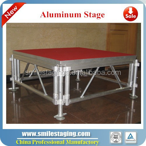 concert stage exhibition aluminum stage truss diy portable stage system