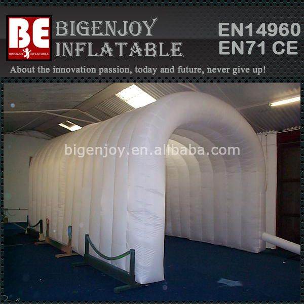 White inflatable marquees for events