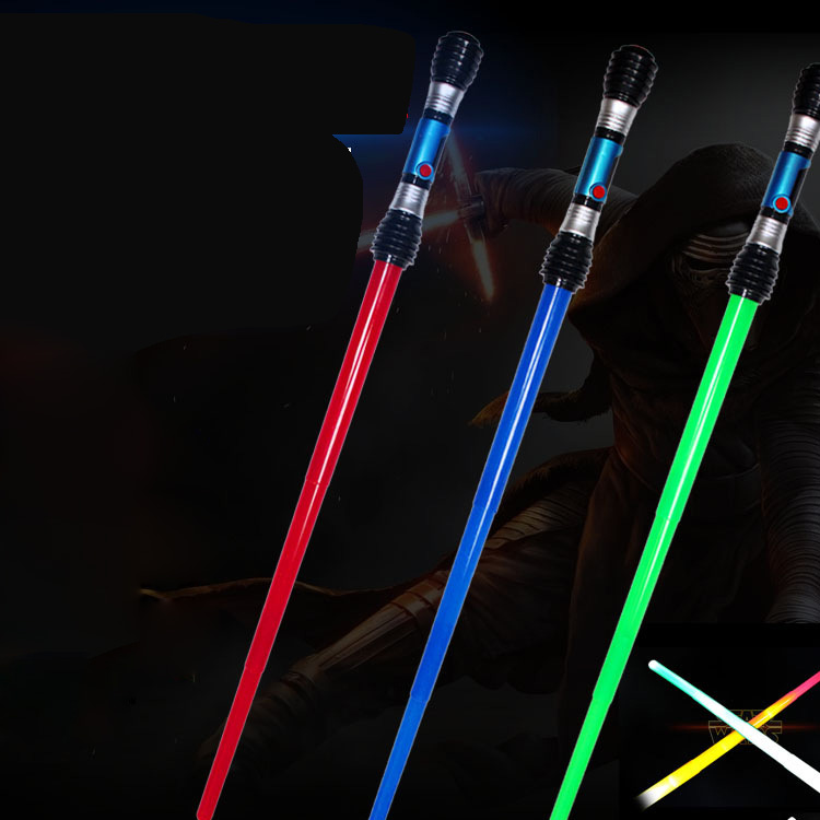 Hot Selling Glow Stick Magic Wand Acousto-optic sword Kid Flashing Toys