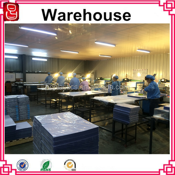 A4 Size Laminating Material Pvc Id Cards Plastic Sheet For Card ...