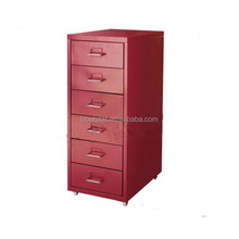 New Office Furniture Small Steel Six Drawers Filing Cabinet