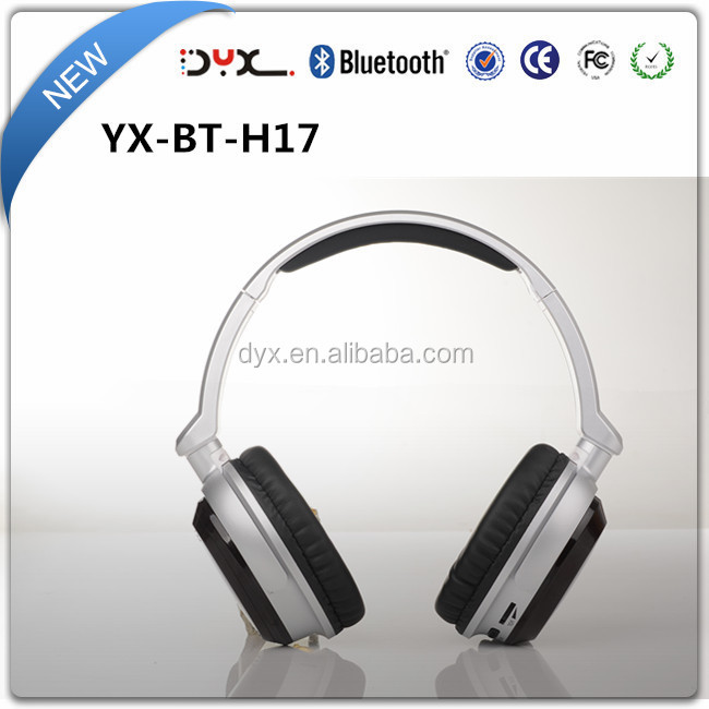 Mobile accessories V4.0 wireless bluetooth headphones over ear