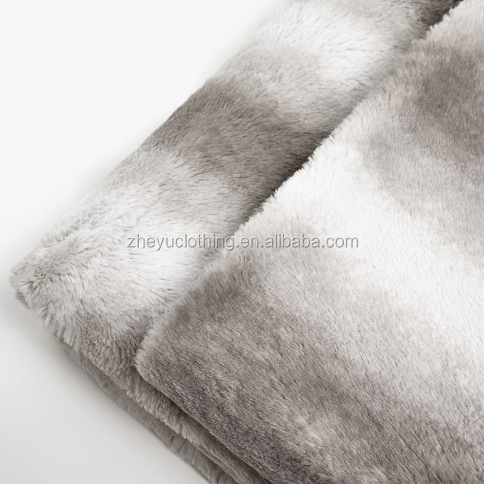 Soft fleece blanket customize size winter hot sale plain fleece blanket