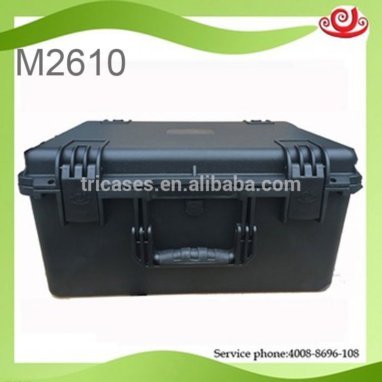 Hot sale!waterproof shockproof case for electronic equipments M2610 high standard with ISO9001 certification