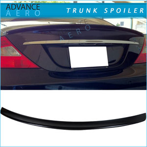 For Benz CLS-Class W219 AMG Trunk Spoiler ABS Bodykits 05-10