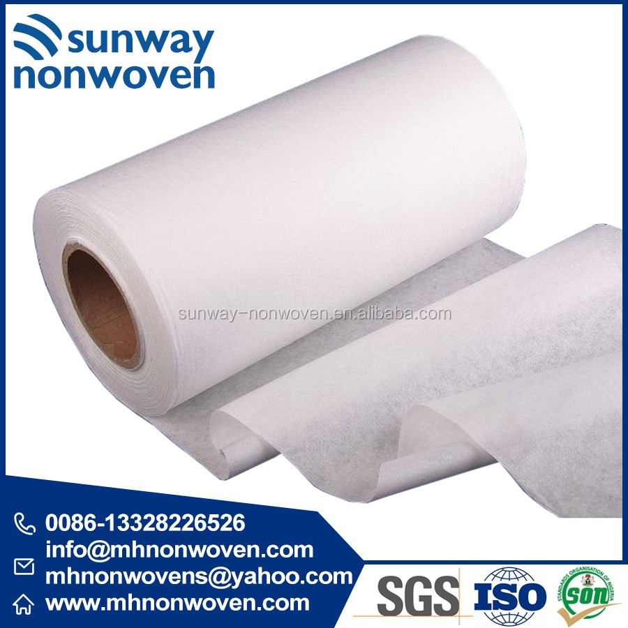 100% Cotton Spunlace Nonwoven Fabric for Industry Wiping