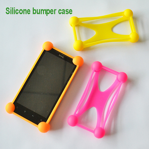 Special design Strong washable Silicone material bumper universal phone Protective case