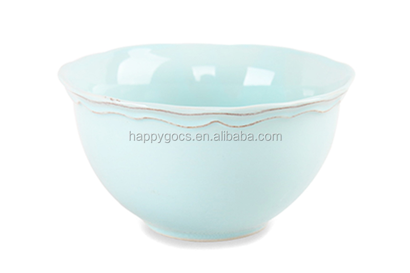 All Kinds Stoneware Footed Bowl With Lids,White Porcelain Rice ...