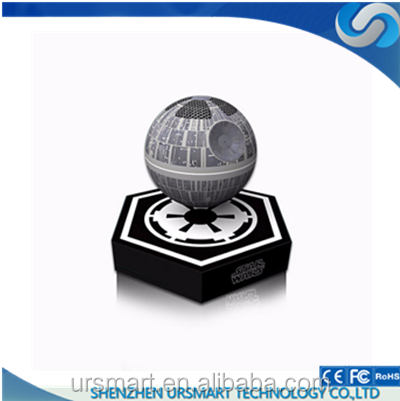 Shenzhen Death Star Bluetooth Levitating Platform Magnetic Wireless Floating Bluetooth Speaker for Iphone