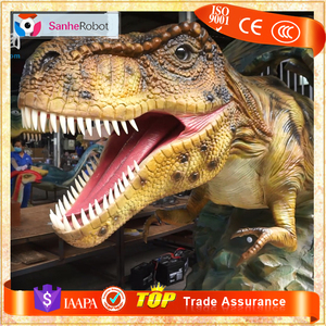Promotion Price China Made Festival Dinosaur Head Attractions for Park