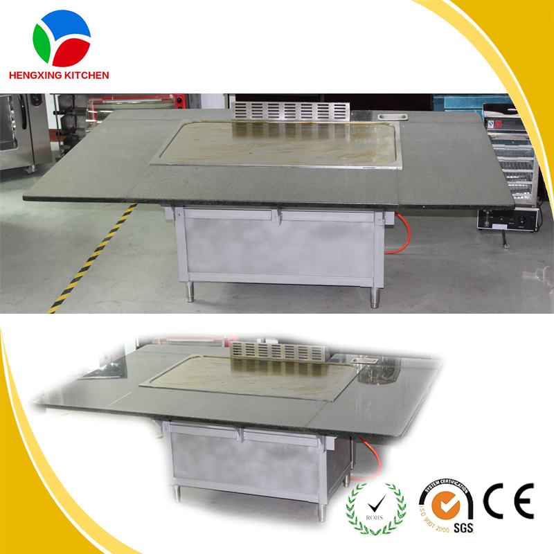 mercial Professional Gas Teppanyaki Grill stainless