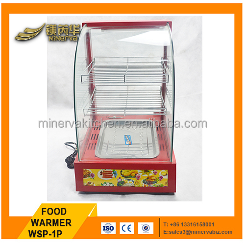 CATERING EQUIPMENT glass food warmer display showcase food warmer cabinet