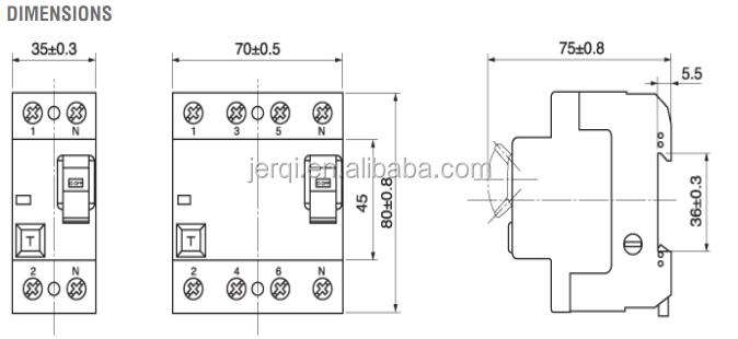 P A Ma Lg Nfin Rcd Rccb Elcb Earth Leakage Circuit Breaker - Elcb wiring diagram drawing